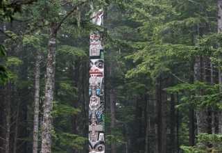 Totem at a distance