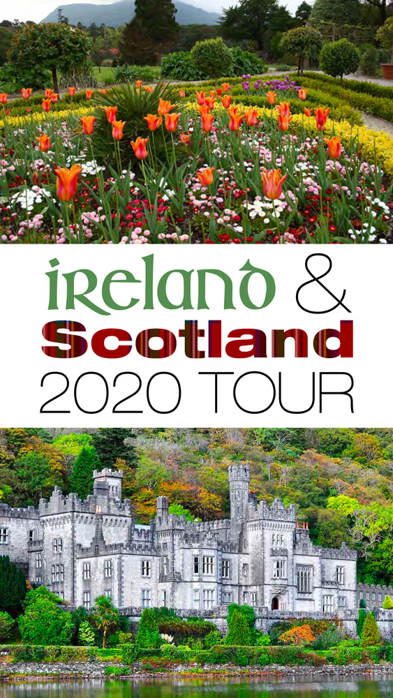 Ireland & Scotland 2020 Tour brochure